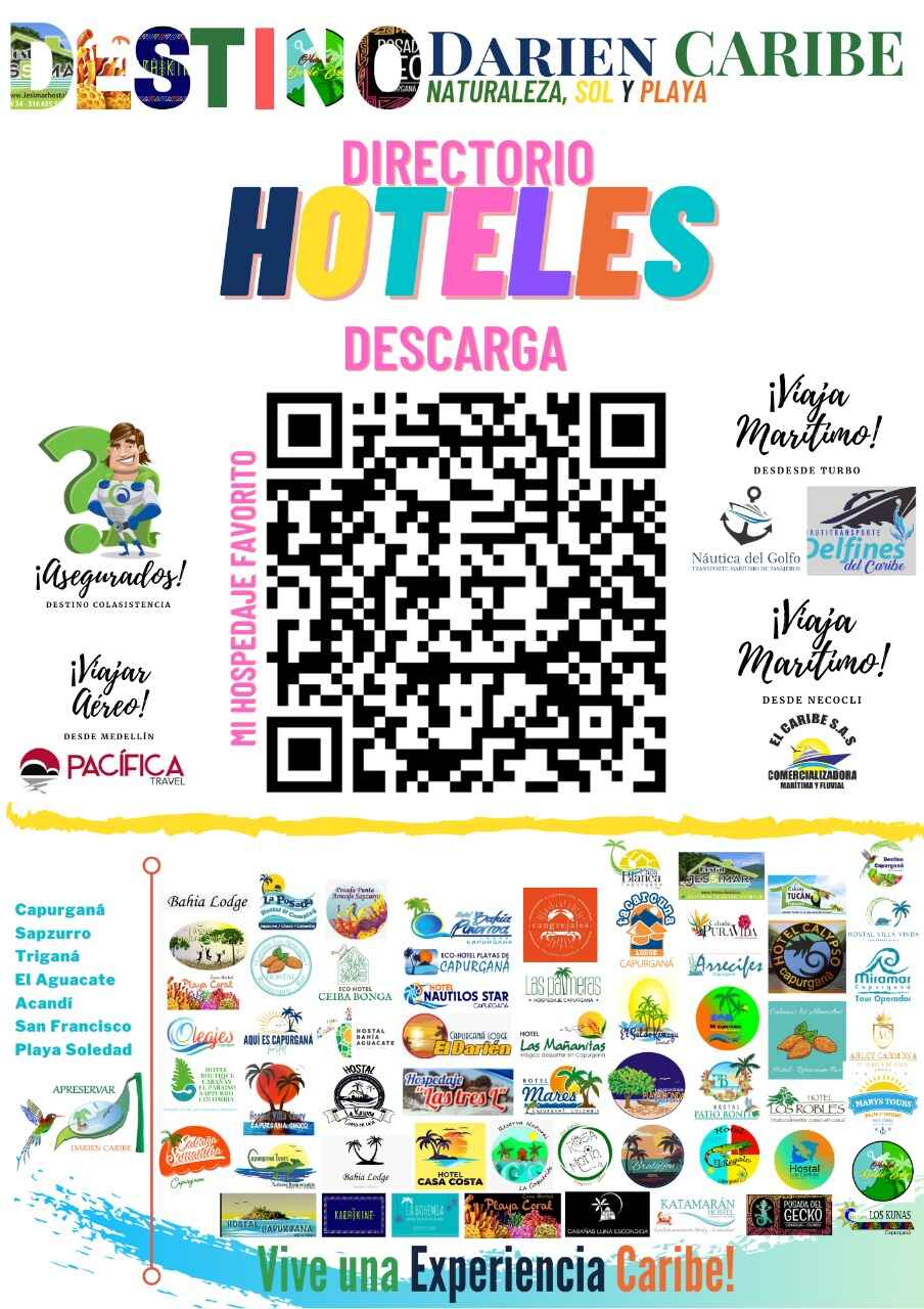 Capurgana Precios hoteles asociados  en APRESERVAR  mas yate KATAMARAN
